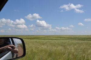 Die unendliche Weite der kasachischen Steppe