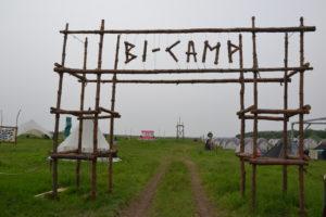 """Lagertor des """"Scoutcamps"""""""