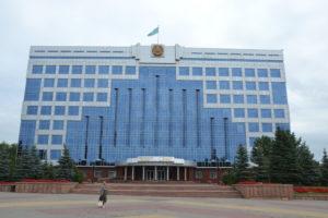 Rathaus der Provinzhauptstadt Qostanai